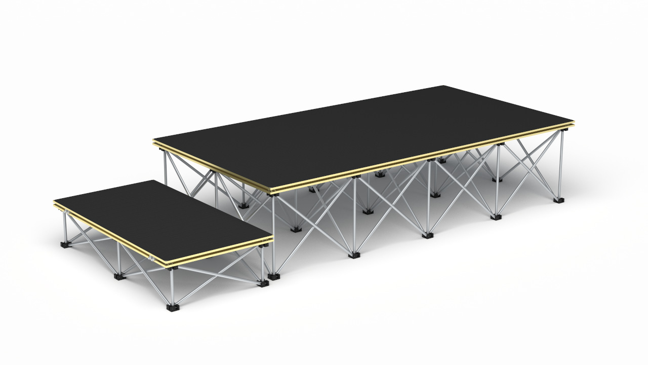 Revostage stage packages – 2000 x 1000mm stage @ 400mm high