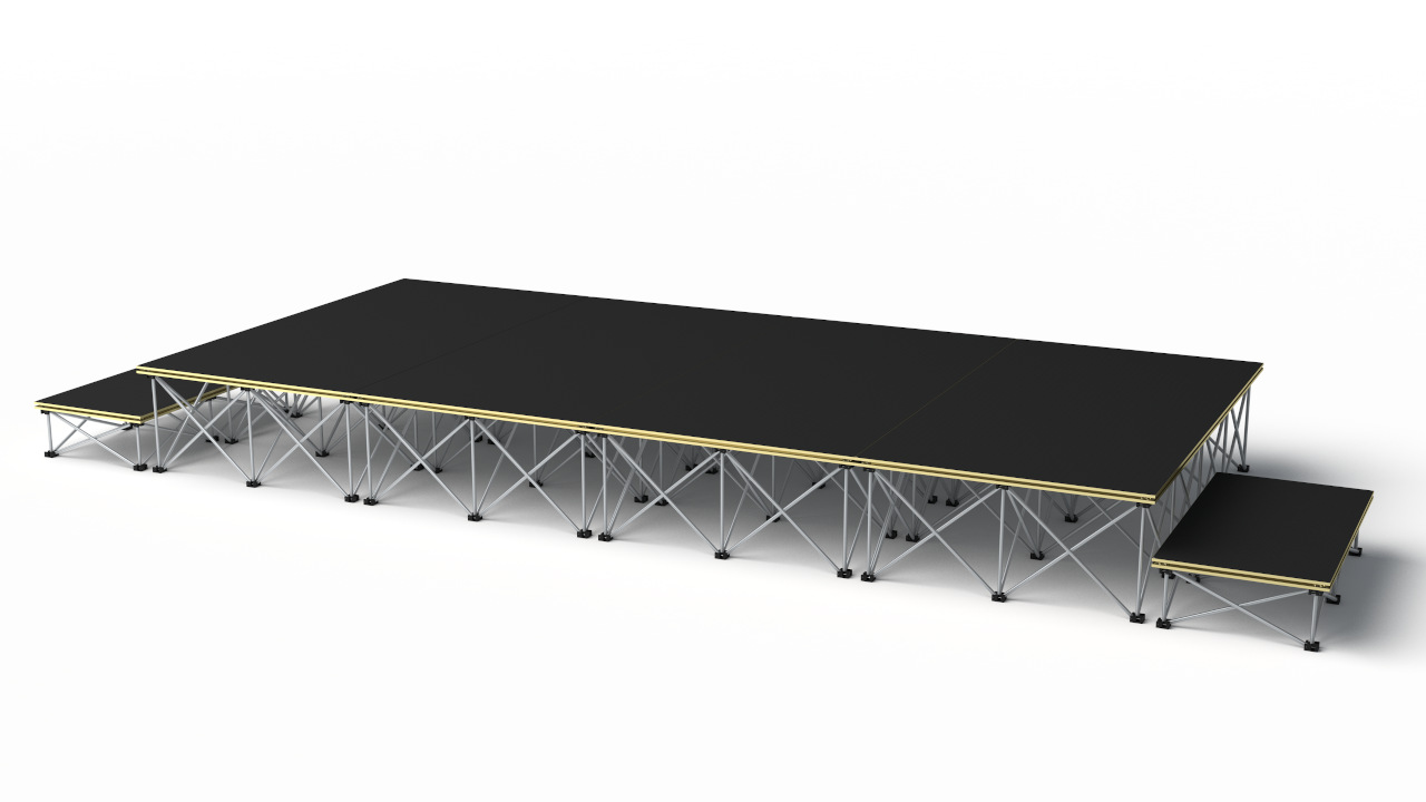 Revostage stage packages – 4000 x 2000mm stage @ 400mm high