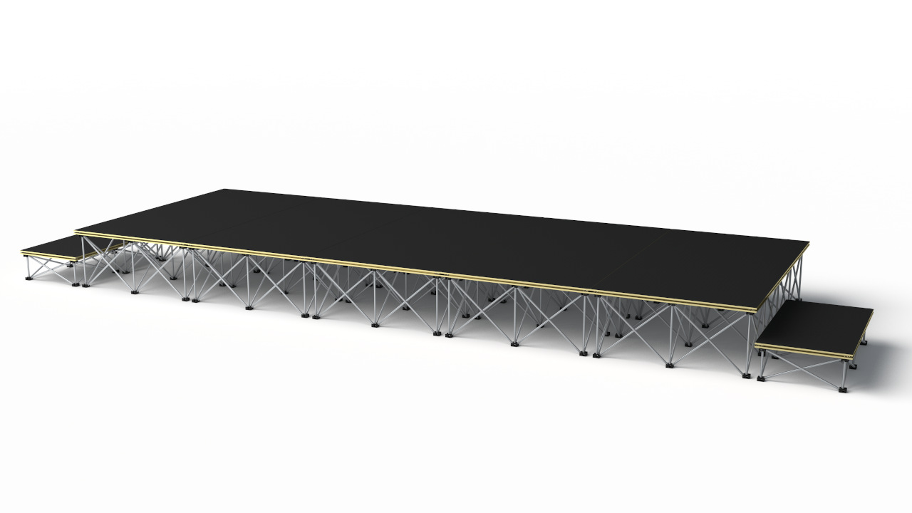 Revostage stage packages – 5000 x 2000mm stage @ 400mm high