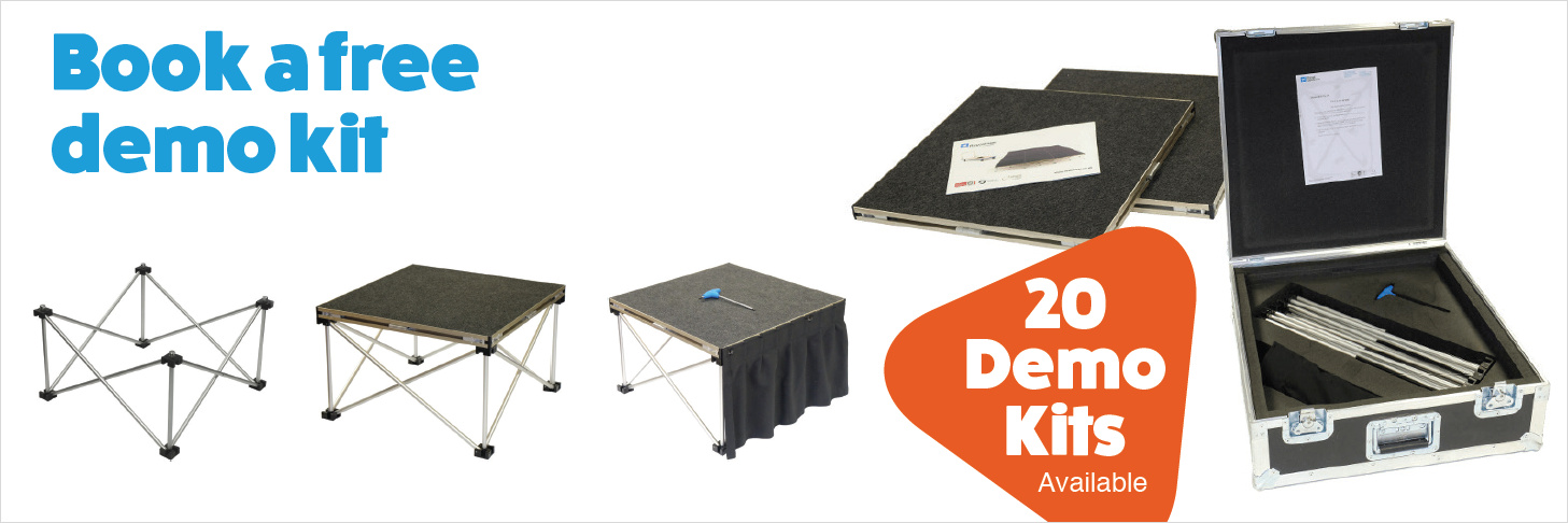 Book a free Revostage Demo Kit
