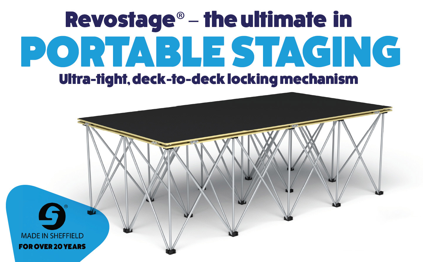 Revostage is the ultimate in portable staging